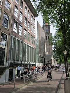 , K & S go to Europe: Day 2 Anne Frank's house