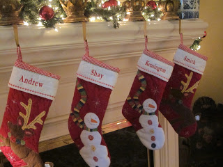 , The stockings were hung by the chimney with care
