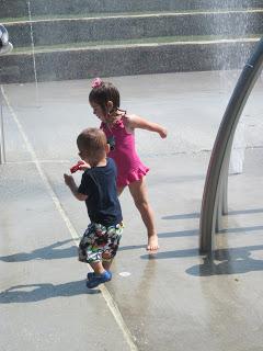 , First splash!