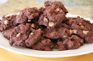 Chocolate Peanut Butter Cake Cookies Recipe, Chocolate Peanut Butter Cake Cookies