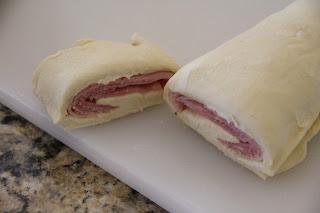 Ham And Swiss Pinwheels Recipe, Ham and Swiss Pinwheels