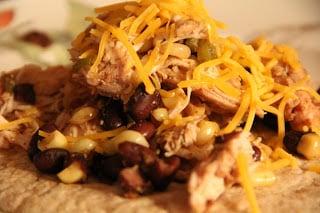 Crock Pot Chicken Tacos Recipe, Dinner Tonight: Crock Pot Chicken Tacos
