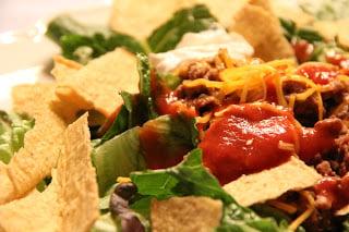 Andrew's Taco Salad Recipe, Dinner Tonight: Andrew's Taco Salad