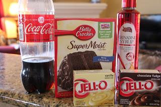 Bundt Cake 21 Chocolate Cherry Coca Cola Mix And Match