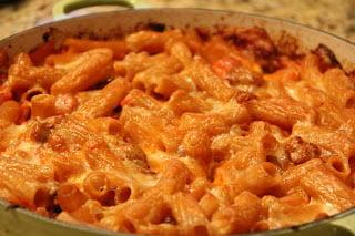 Sausage And Provolone Pasta Recipe, Dinner Tonight: Sausage and Provolone Pasta