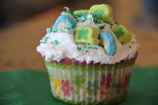 Lucky Cupcakes Recipe, Lucky Cupcakes