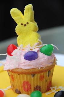 Peep Cakes Recipe, Peep Cakes