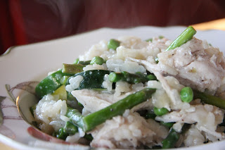 Spring Vegetable Risotto Recipe, Dinner Tonight: Spring Vegetable Risotto