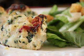 Spinach & Sun Dried Tomato Meatballs Recipe, Dinner Tonight: Spinach & Sun Dried Tomato Meatballs