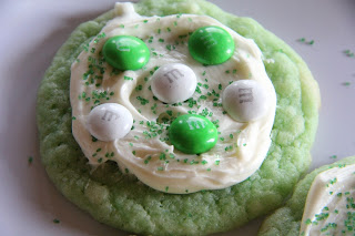 St. Paddy's Day Cookies Recipe, St. Paddy's Day Cookies