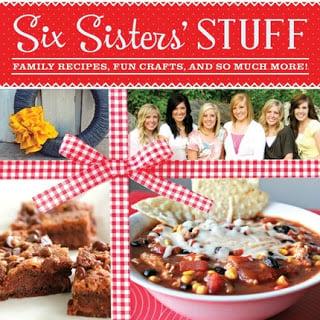 , Six Sisters Stuff Cookbook Giveaway!