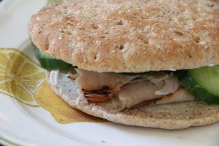 Cucumber & Turkey Sandwiches Lunch Recipe, Lunch: Cucumber & Turkey Sandwiches