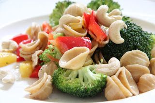 Sesame Ginger Pasta Salad Lunch Recipe, Lunch: Sesame Ginger Pasta Salad