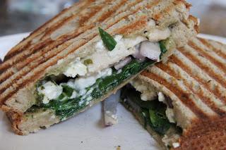 Greek Paninis Vegetarian Week Recipe, Vegetarian Week: Greek Paninis