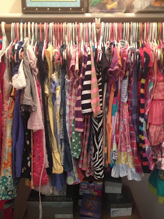 , Fifty Two Shades of Shay: Organizing, Saving and Donating your kids' clothes