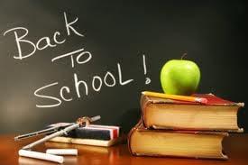 , Back To School Menu!