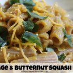 Sausage & Butternut Squash Pasta