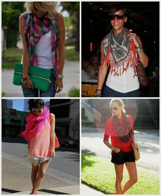 , Fifty Two Shades of Shay: Scarves
