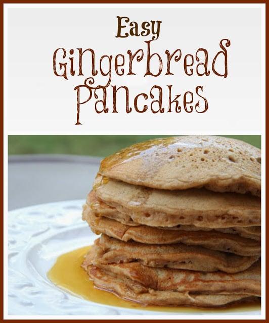 Gingerbread Pancakes Recipe, Gingerbread Pancakes