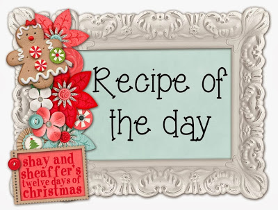 , On the 1st Day of Christmas: I meal planned, ate Cranberry-Orange Cookies and shared Christmas cheer!