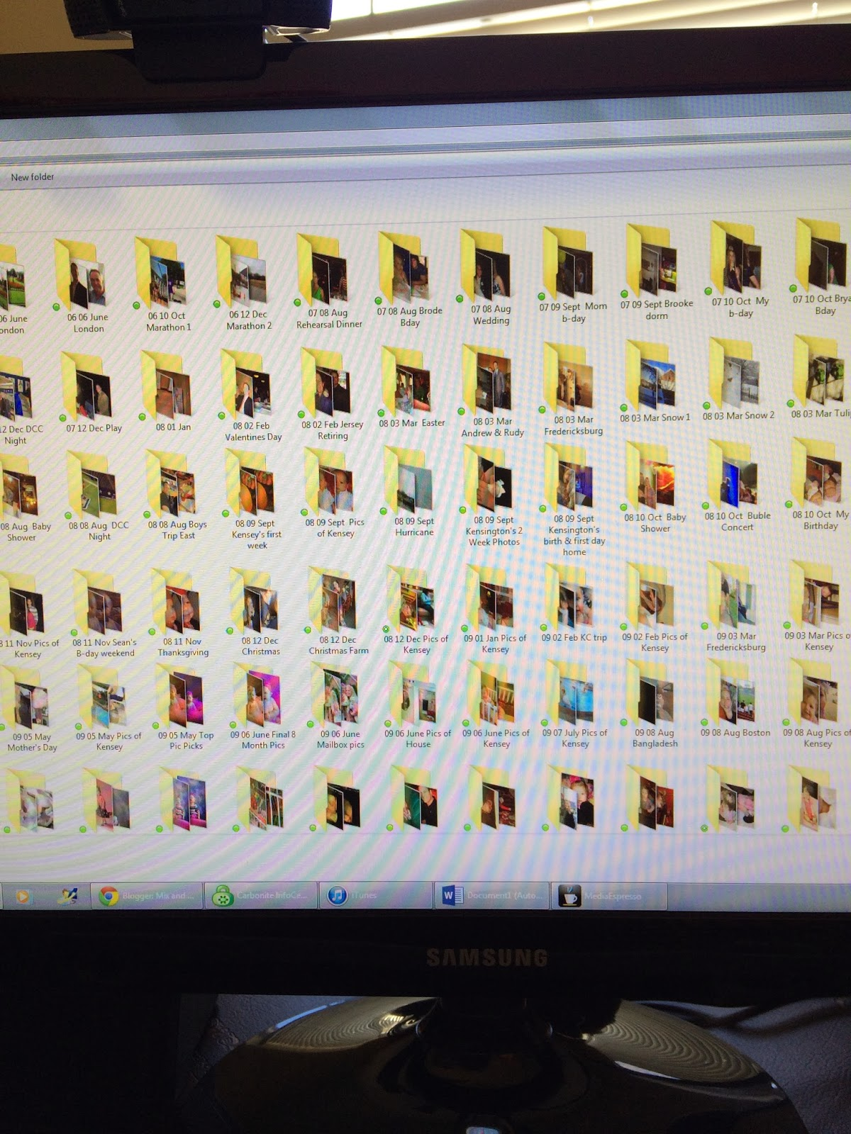 , Fifty Two Shades of Shay: Organizing Photos