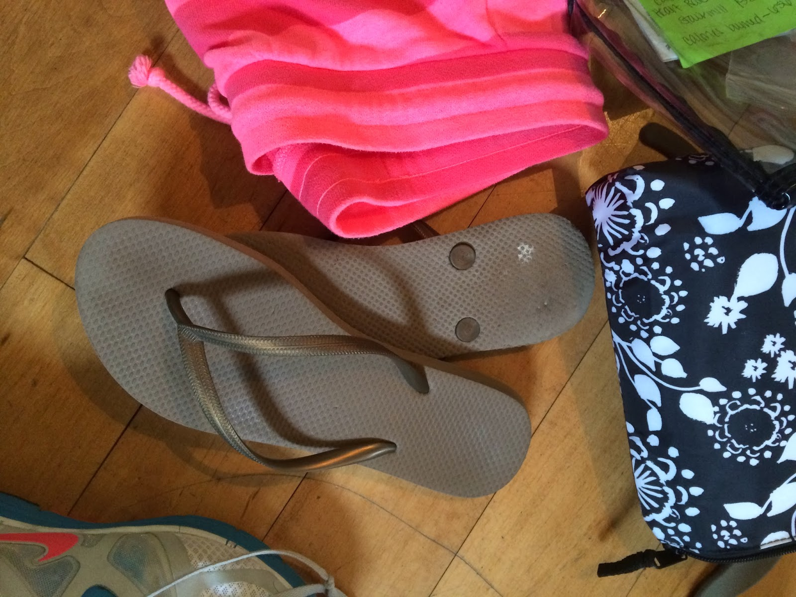 , Fifty Two Shades of Shay: Inside my gym bag