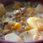 Sausage-and-Corn-Chowder