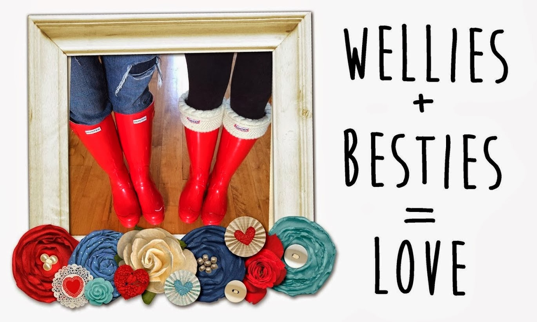 , Wellies + Besties = Love Giveaway!