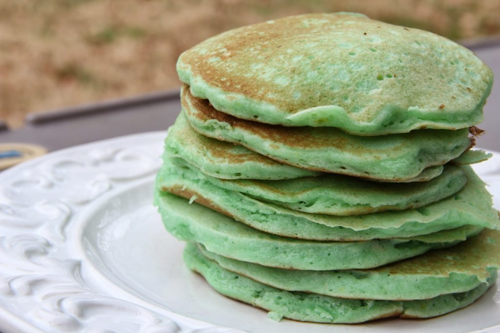 St. Patrick's Day Pancakes Recipe, St. Patrick's Day Pancakes