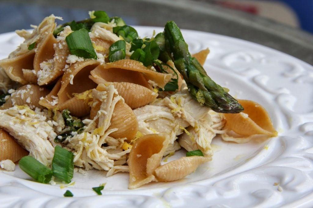 Lemon & Asparagus Chicken Pasta Recipe, Dinner Tonight: Lemon & Asparagus Chicken Pasta