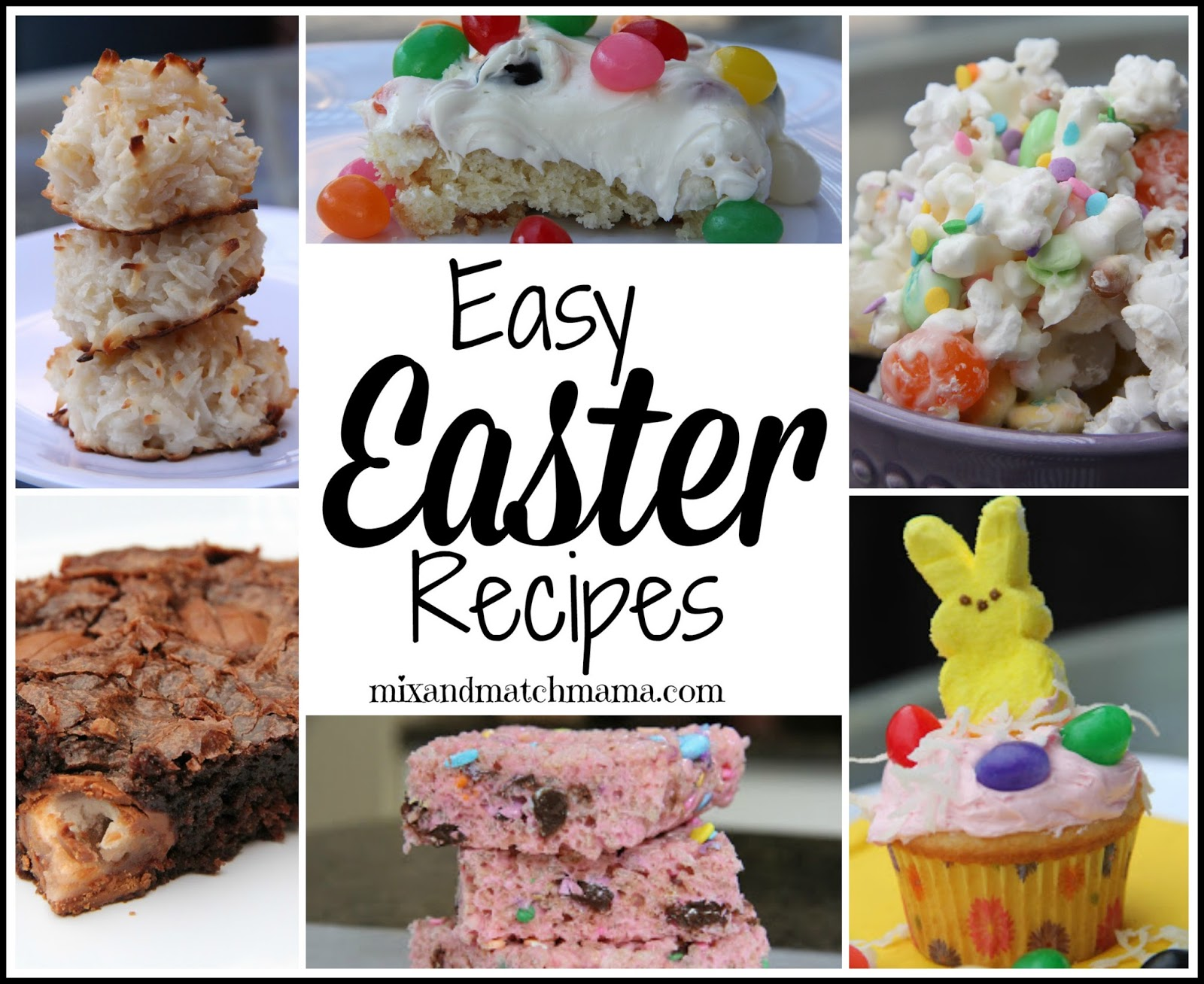 Easy easter recipes mix and match mama for Quick and easy easter treats recipes