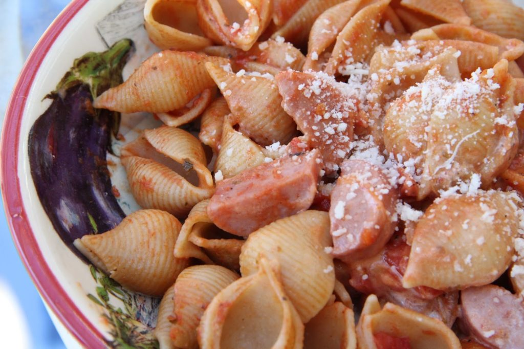 Sausage And Shells Recipe, Dinner Tonight: Sausage and Shells