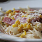 Pasta-with-Bacon-and-Corn