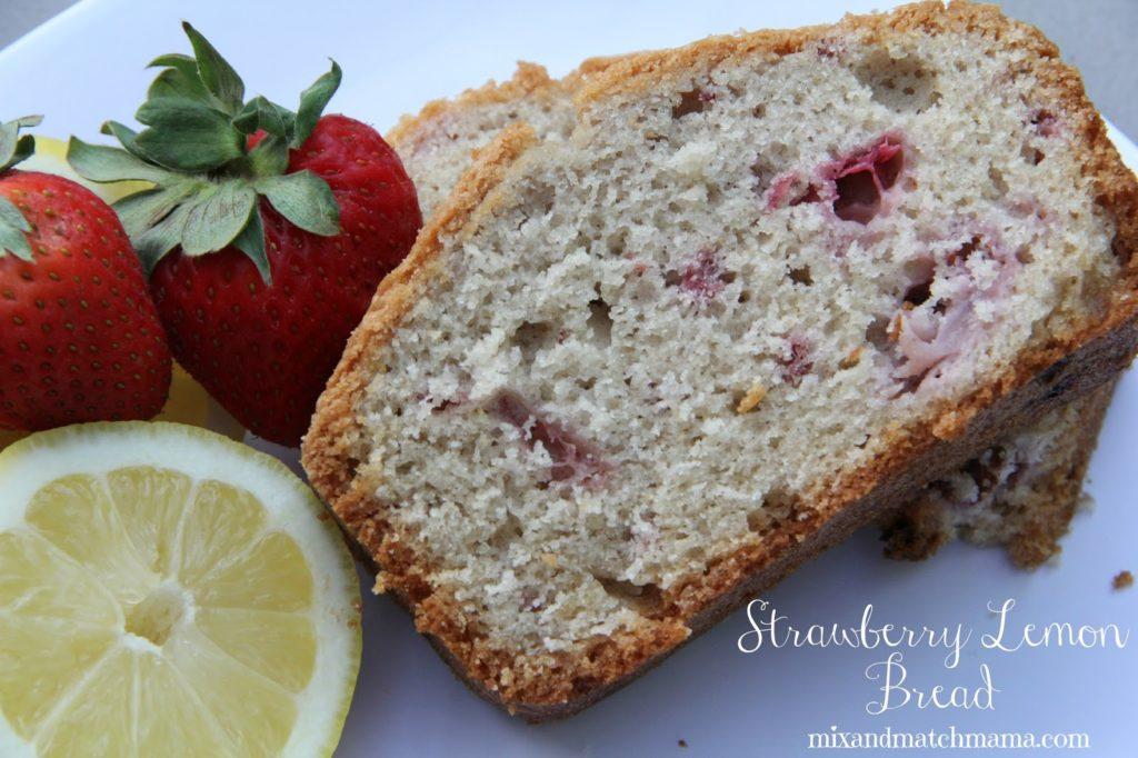 Strawberry Lemon Bread Recipe, Strawberry Lemon Bread