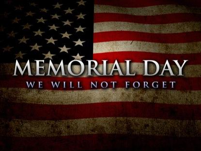 , Happy Memorial Day!