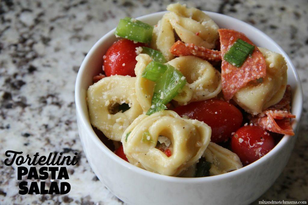 Tortellini Pasta Salad Recipe, Tortellini Pasta Salad