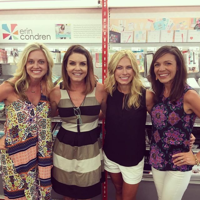 We met the one and only ERIN CONDREN tonight! Andhellip