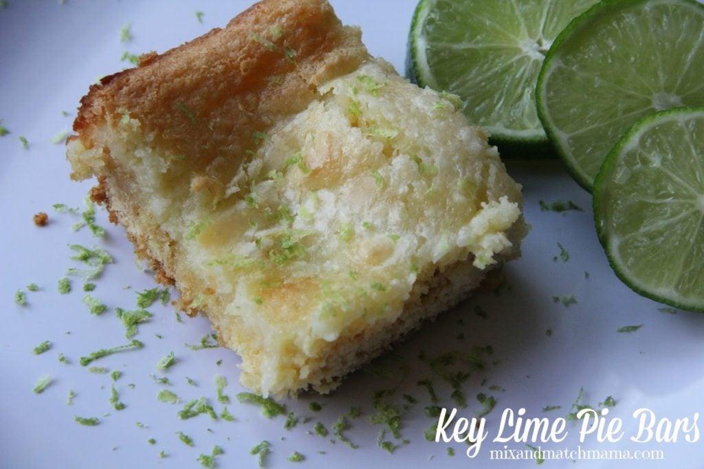 Key Lime Pie Bars Recipe, Bar #48: Key Lime Pie