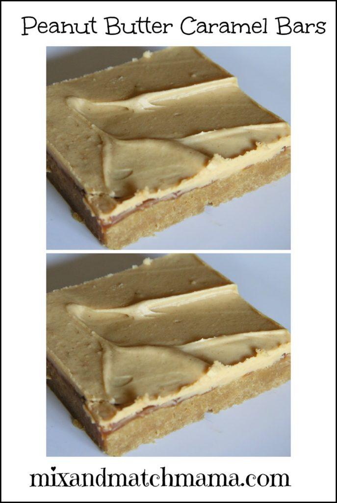 Bar #53: Peanut Butter Caramel | Mix and Match Mama