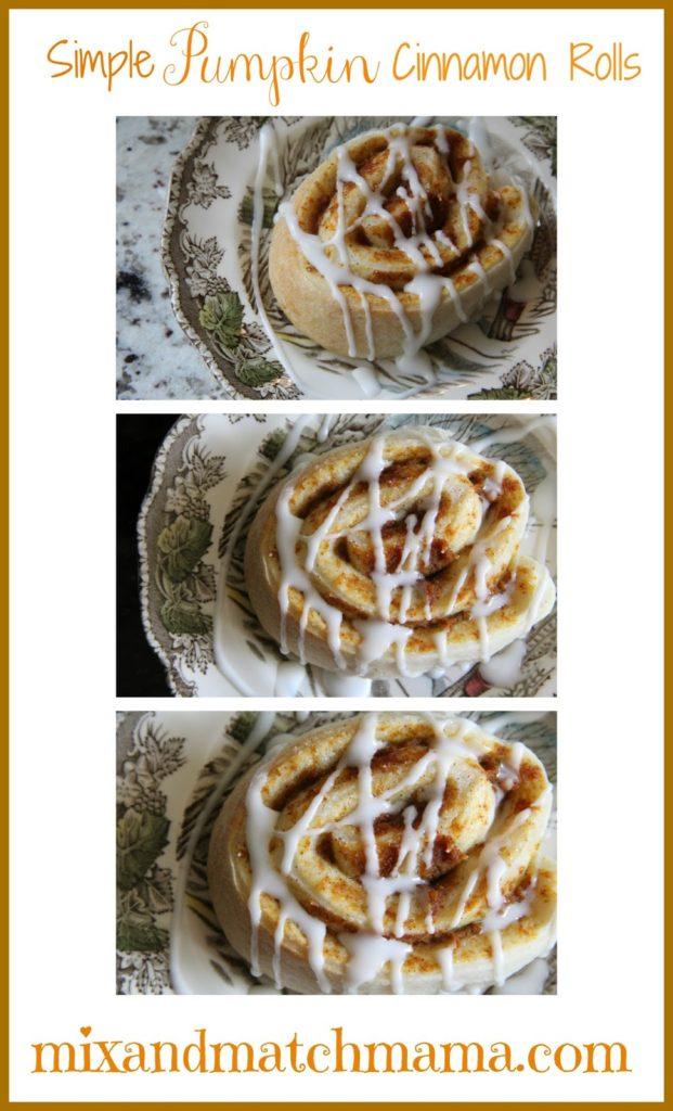Simple Pumpkin Cinnamon Rolls Recipe, Simple Pumpkin Cinnamon Rolls