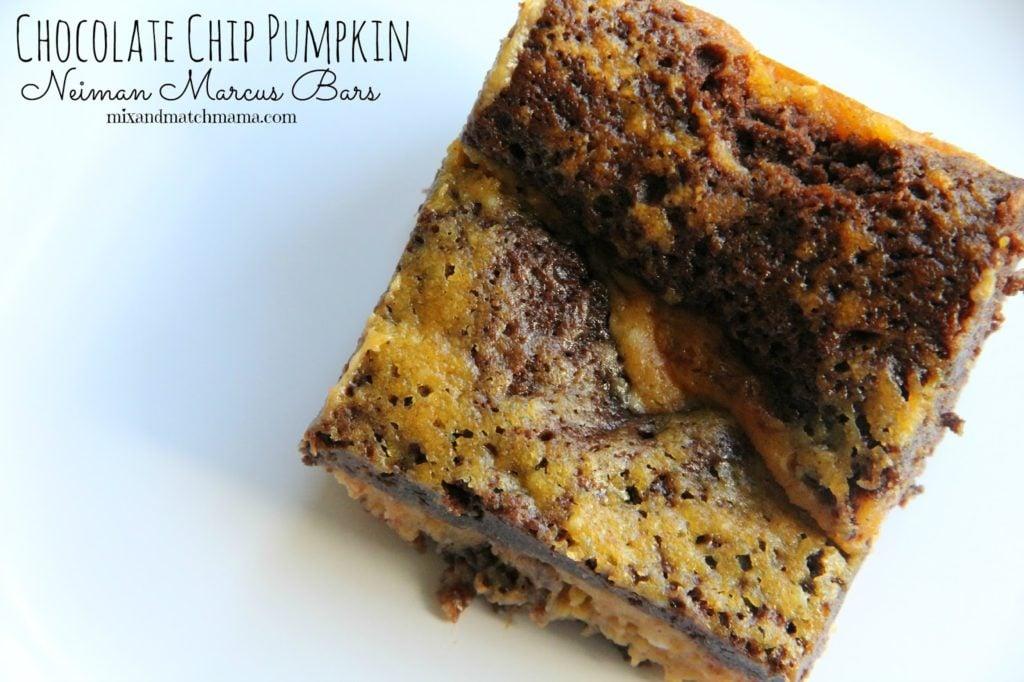 Chocolate Chip Pumpkin Neiman Marcus Barss Bars Recipe, Bar #60: Chocolate Chip Pumpkin Neiman Marcus Bars