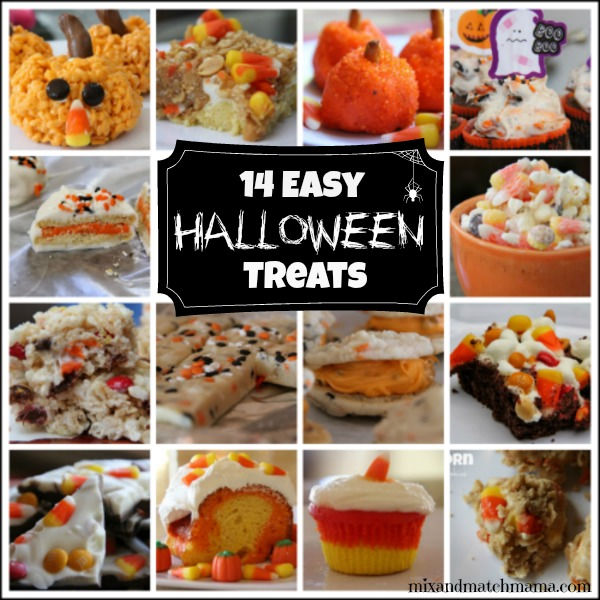 in the spirit of october i thought id share some of my favorite halloween treats for you to make this month these recipes are all perfect for school - Easy Halloween Appetizer Recipes With Pictures