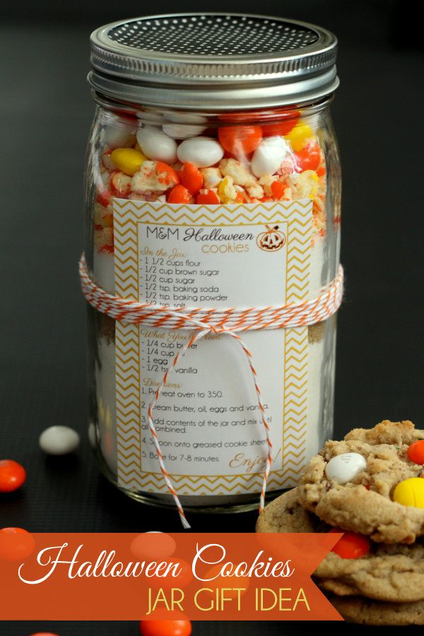 If Youre Wanting To Give Some Halloween Gifts This Week Maybe To Your Kids Teachers Or Your Neighbors I Love These Festive Cookie Jars With Free
