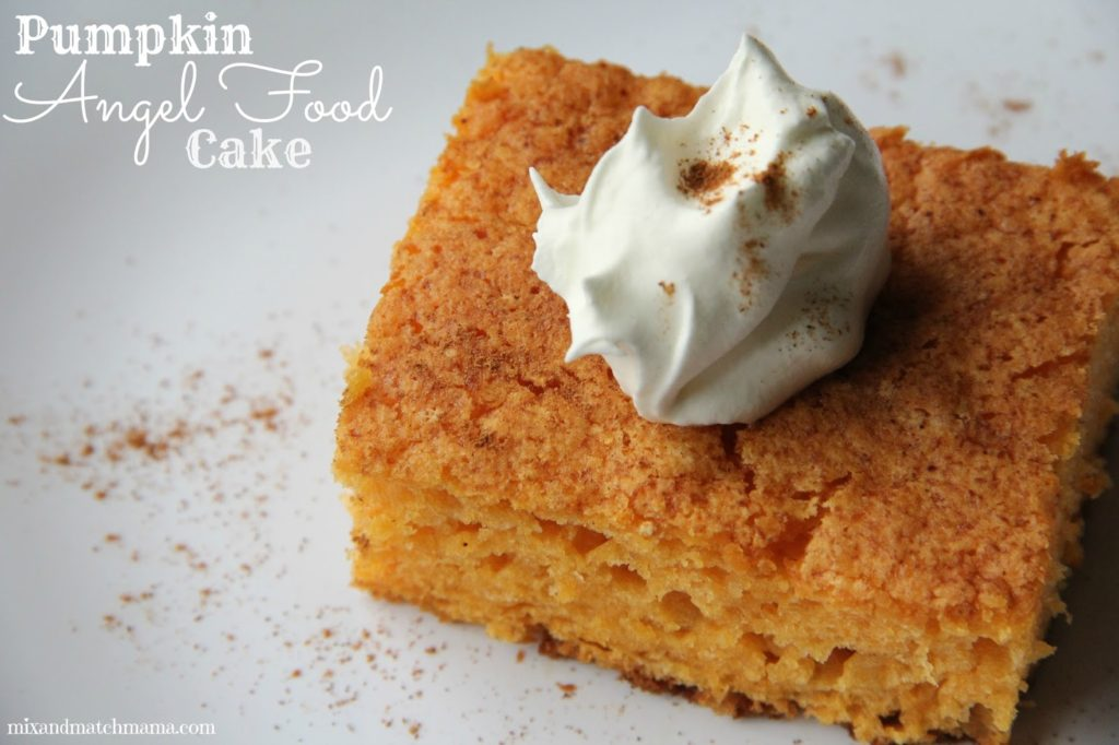 Canned Pumpkin Cake Mix
