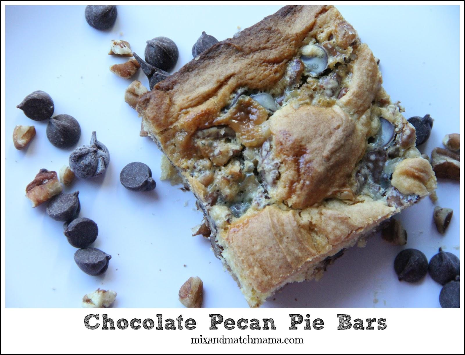 Pecan Pie Bars Cake Mix