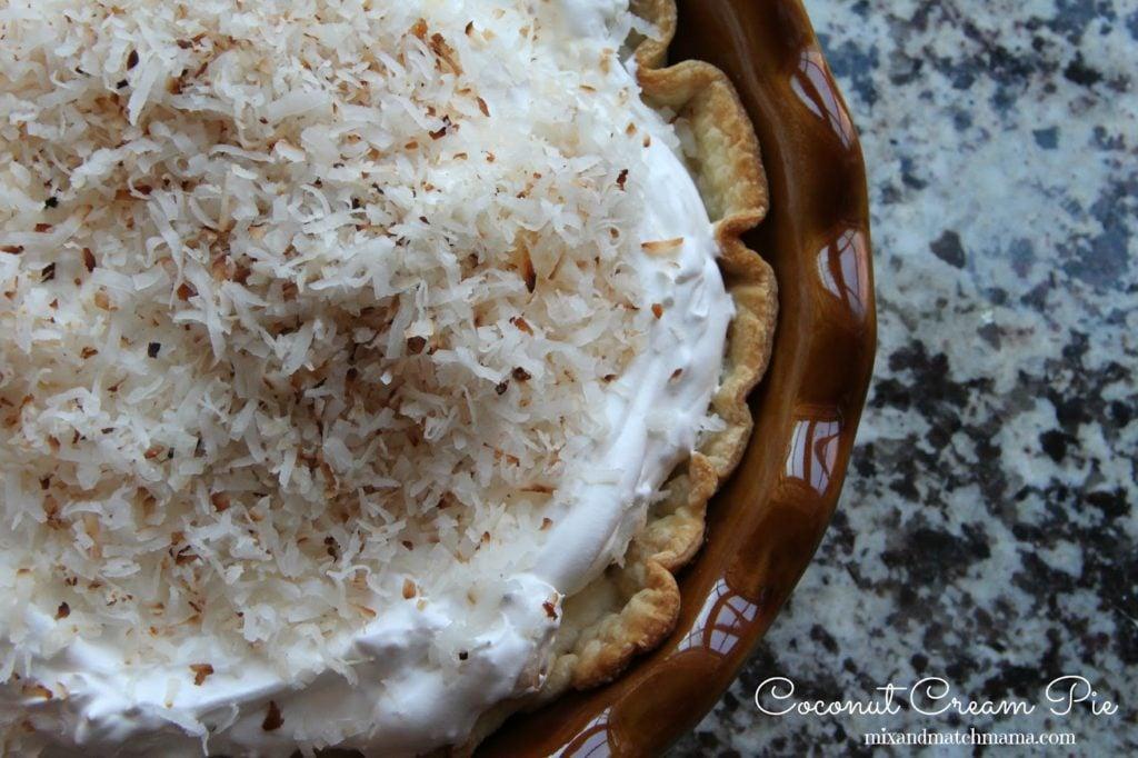 Coconut Cream Pie Recipe, Coconut Cream Pie