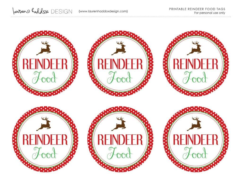 Reindeer Food | Mix and Match Mama