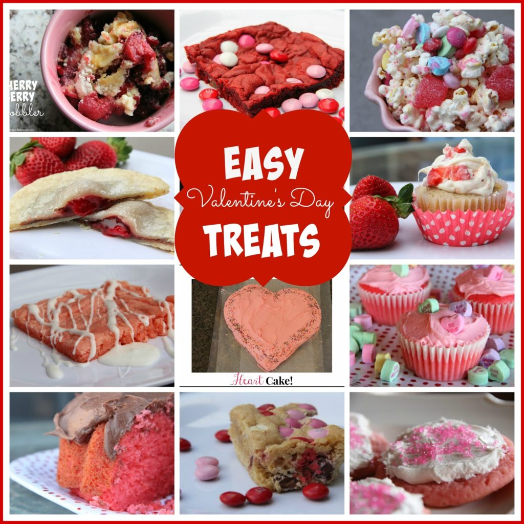 Easy Valentine S Day Treats Mix And Match Mama
