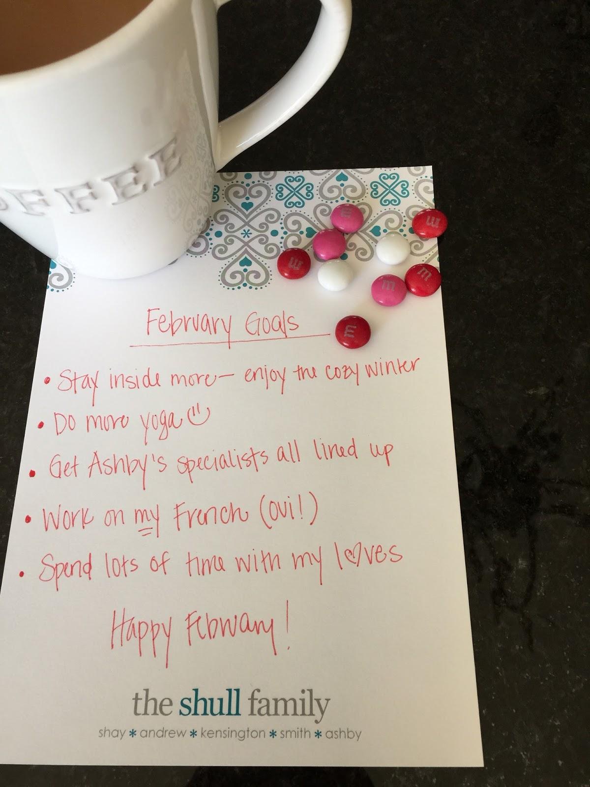 , Friday Favorites: February Goals