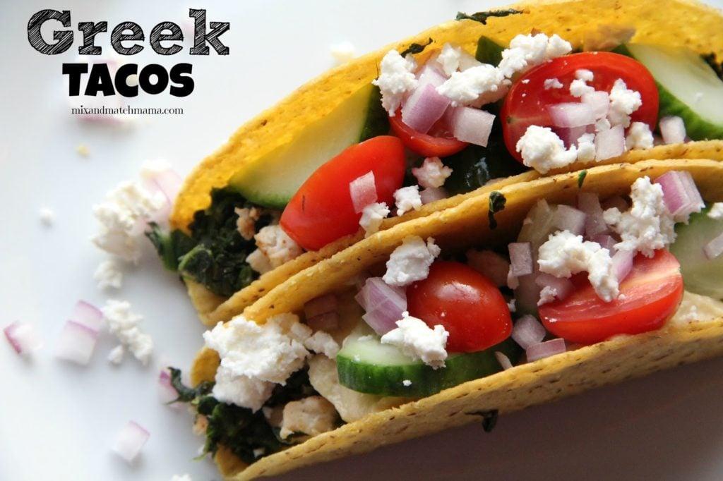 Greek Tacos Recipe, Dinner Tonight: Greek Tacos